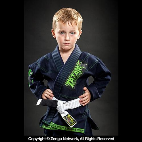 Tatami Tatami Animal Kids Jiu Jitsu Gi - Navy Blue